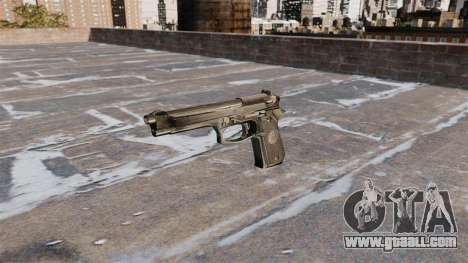 Self-loading pistol Beretta 92FS for GTA 4 third screenshot