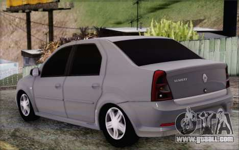 Renault Logan for GTA San Andreas left view