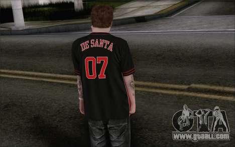 Jimmy De Santa for GTA San Andreas second screenshot