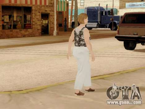 An elderly woman v.2 for GTA San Andreas eleventh screenshot