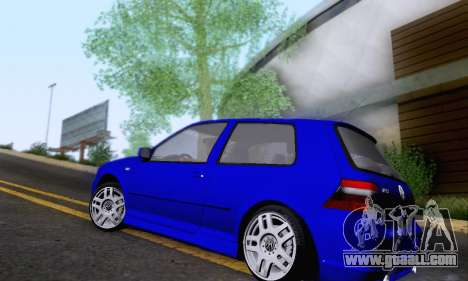 Volkswagen Golf R32 for GTA San Andreas back left view
