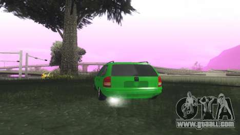 Chevrolet Corsa Wagon for GTA San Andreas back left view
