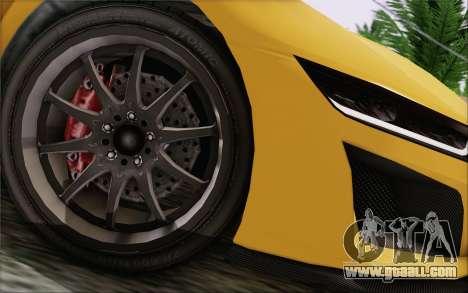 GTA V Dinka Jester IVF for GTA San Andreas right view