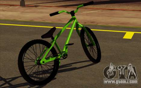 Street MTB bike for GTA San Andreas