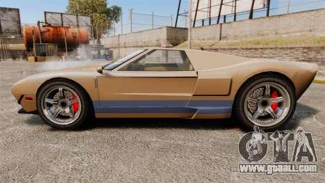 GTA IV TBoGT Vapid Bullet for GTA 4 left view