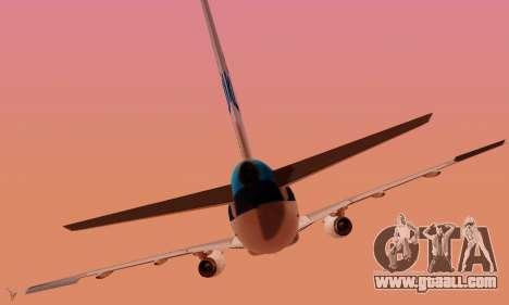 Airbus A319 KLM for GTA San Andreas interior