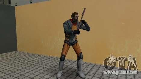 Gordon Freeman for GTA Vice City third screenshot