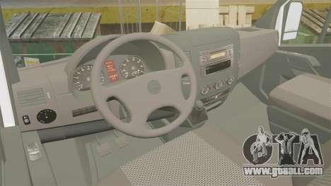 Mercedes-Benz Sprinter TF1 News [ELS] for GTA 4 back view