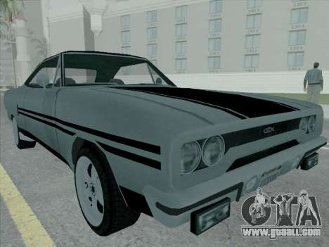 Plymouth Road RunneR GTX 1970 for GTA San Andreas left view