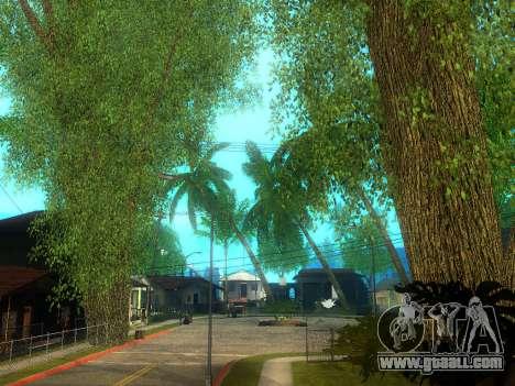 New Grove Street v2.0 for GTA San Andreas sixth screenshot