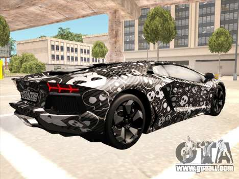 Lamborghini Aventador LP700-4 2013 for GTA San Andreas right view