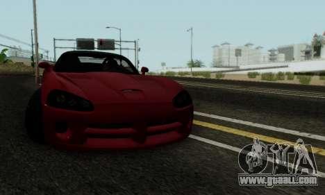 Dodge Viper SRT-10 for GTA San Andreas side view