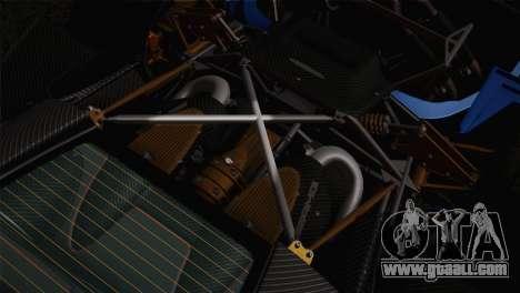Pagani Huayra for GTA San Andreas wheels