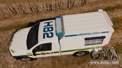 Volkswagen Amarok 2012 SAPS [ELS] for GTA 4 right view