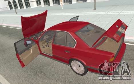 BMW M5 E34 1991 NA-spec for GTA San Andreas side view