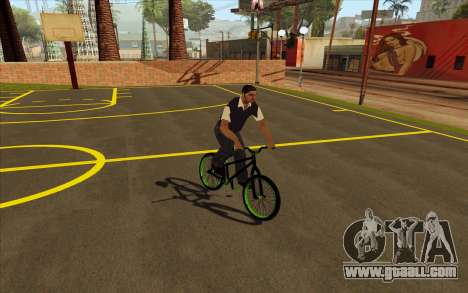 Street MTB bike for GTA San Andreas back left view