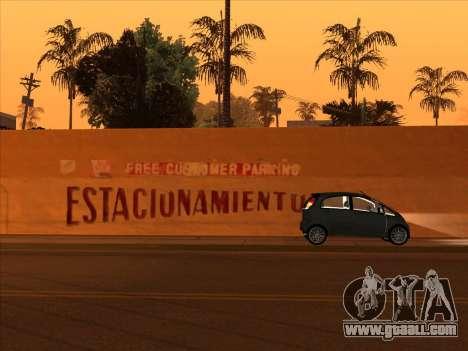 Mitsubishi i MiEV for GTA San Andreas back left view