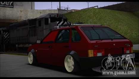 VAZ 2109 for GTA San Andreas inner view