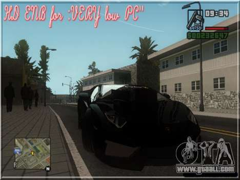 HD ENB for very low PC for GTA San Andreas forth screenshot