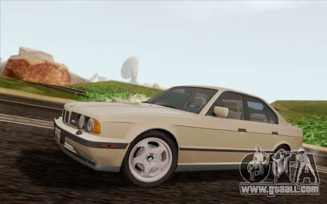 BMW M5 E34 1991 NA-spec for GTA San Andreas