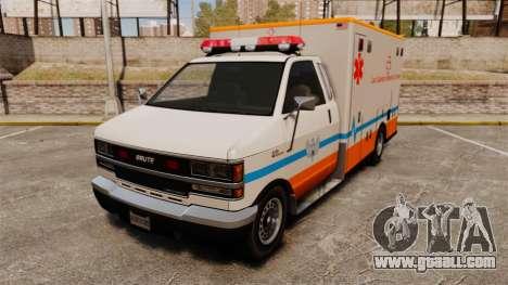 Brute LSMC Paramedic for GTA 4