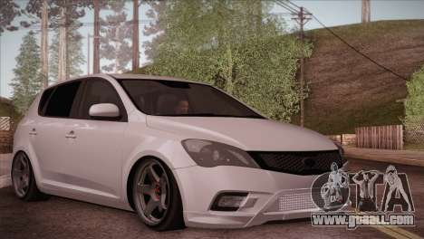 Kia Ceed 2011 for GTA San Andreas
