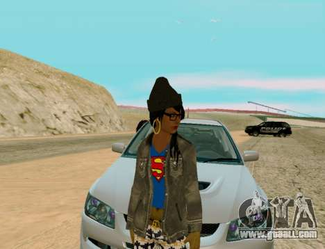 Girl Swagg for GTA San Andreas second screenshot