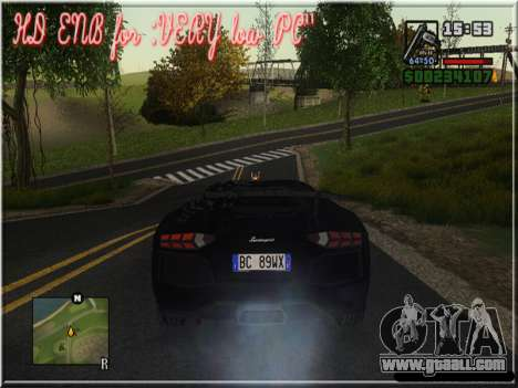 HD ENB for very low PC for GTA San Andreas sixth screenshot