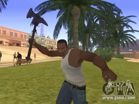 Baton Marker for GTA San Andreas third screenshot