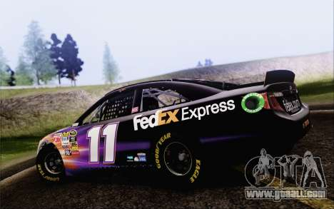 Toyota Camry NASCAR Sprint Cup 2013 for GTA San Andreas left view