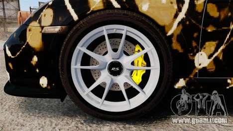 Porsche 911 GT2 RS 2012 BLOB for GTA 4 back view