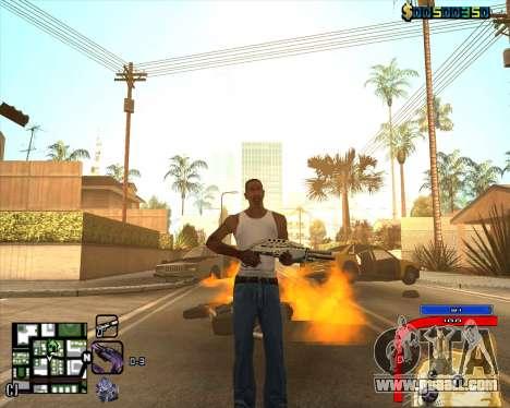 C-HUD by Mark Osborne for GTA San Andreas