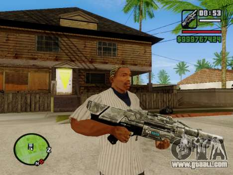 M-86 Sabre v.2 for GTA San Andreas second screenshot