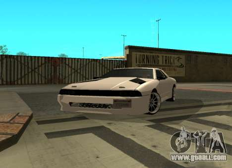 Elegy By Eweest v0.1 for GTA San Andreas left view