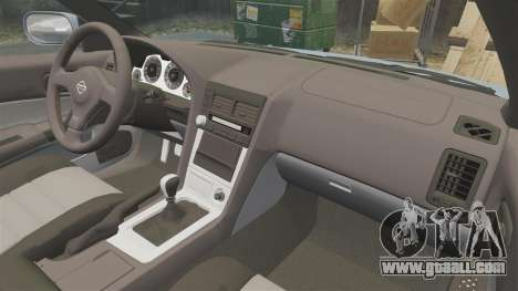 Nissan Skyline ER34 GT25 for GTA 4 side view