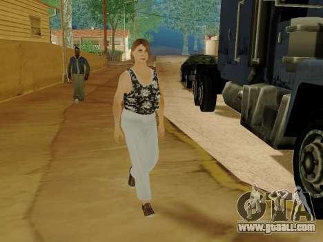 An elderly woman v.2 for GTA San Andreas tenth screenshot