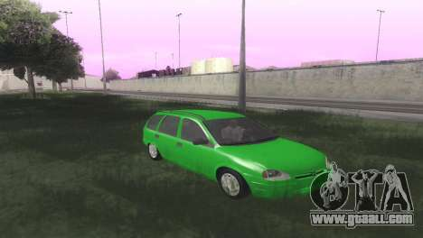 Chevrolet Corsa Wagon for GTA San Andreas back view
