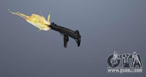The submachine gun UZI for GTA San Andreas eleventh screenshot