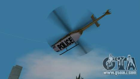 Police Helicopter from GTA VCS for GTA Vice City inner view