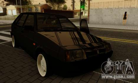 VAZ 2109 for GTA San Andreas upper view
