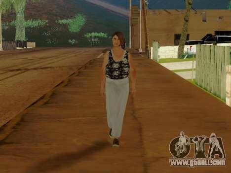An elderly woman v.2 for GTA San Andreas second screenshot