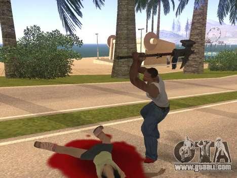 Baton Marker for GTA San Andreas forth screenshot