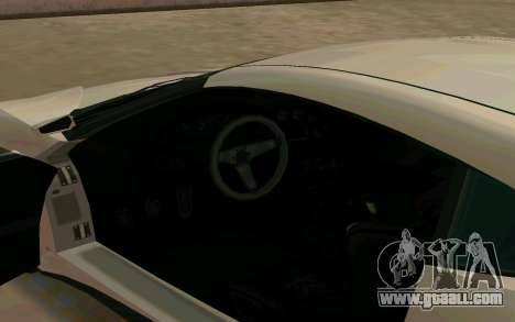 GTA V Dinka Jester for GTA San Andreas back view