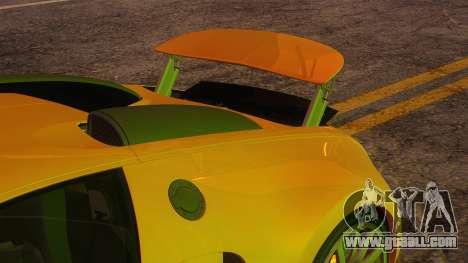 Bugatti Veyron 2009 for GTA San Andreas side view
