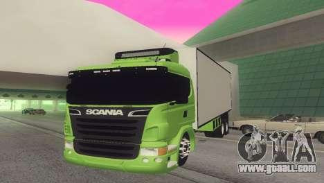 Scania 310 Bau for GTA San Andreas back left view