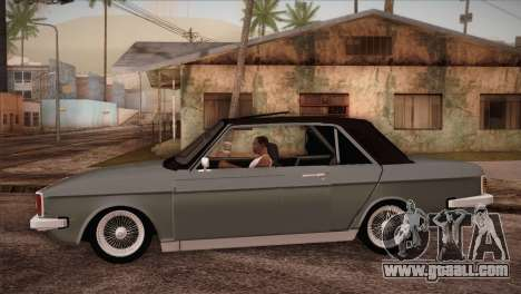 Peykan 80 Blackroof for GTA San Andreas left view