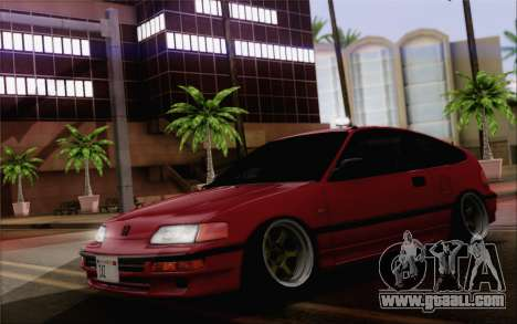 Honda CRX Low Gang for GTA San Andreas