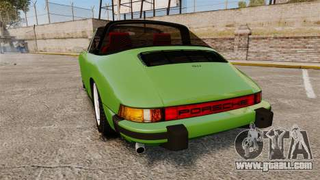 Porsche 911 Targa 1974 for GTA 4 back left view
