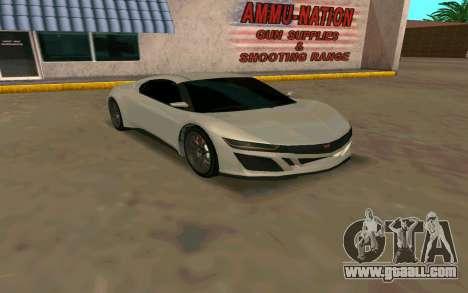 GTA V Dinka Jester for GTA San Andreas