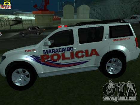 Nissan Pathfinder Polimaracaibo for GTA San Andreas left view